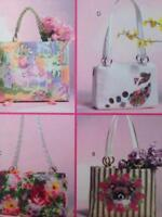McCalls Sewing Pattern 4883 Two Totes Two Handbags Uncut Fashion Accessories