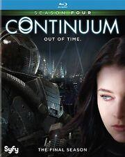 CONTINUUM : COPLETE SEASON 4 -  Blu Ray - Sealed Region free for UK