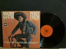 PERCY FAITH  Mucho Gusto    LP    Lovely copy!