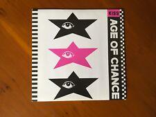 Age Of Chance KISS 7 ins vinyl single Prince