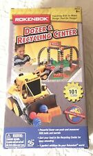 Rokenbok Dozer and Recycling Set Construction Building Toy Remote Not Included
