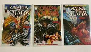 Chains of Chaos set from:#1-3 Avatar 3 different books 8.0 VF (1994 to 1995)