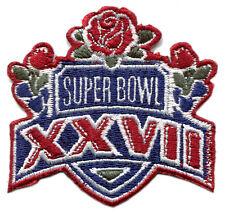 "1993 SUPER BOWL XXVII NFL FOOTBALL DALLAS COWBOYS VS BUFFALO BILLS 2.75"" PATCH"