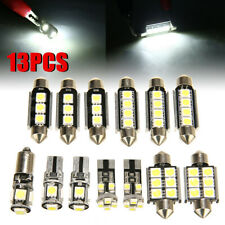13x White Car Interior LED Light Bulb Kit For VW Golf 6 MK6 GTI 2010-2015 DC
