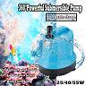 25/40/55W Waterproof Submersible Aqua Aquarium Water Pump Fish Tank Fountain New