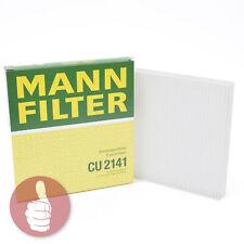 Original MANN-FILTER Innenraumfilter Pollenfilter CU 2141 Peugeot Citroën