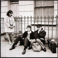 THE BEATLES POSTER PAGE . 1967 PAUL MCCARTNEY & IVOR CUTLER . 23N
