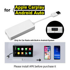 USB Dongle Adaptador Android Autoradio GPS para Apple iOS CarPlay Navegación