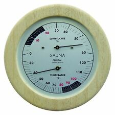 Fischer Hygrometer and Thermometer for Sauna Application, 196Th-03-ES