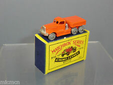 "MATCHBOX  MOKO LESNEY MODEL  No.15a DIAMOND ""T"" PRIME MOVER VN MIB"