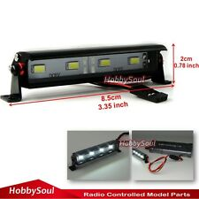 RC Alum LED Light Bar 6~7.4V JR Plug 85mm Long For RC Crawler Truck Upgrade part