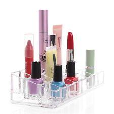 1PC Clear Acrylic Case Cosmetics Organizer 24 Grid Lipsticks Storage Holder