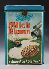 ALTE Blechdose Henze Milch Bienen wohl um 1950