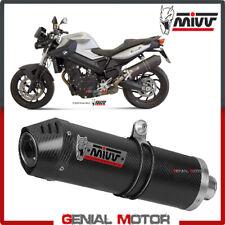 Mivv Exhaust Muffler Oval Carbon Fiber Carbon Cap kat BMW F 800 R GT 2009 2019