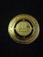 CADILLAC HERITAGE OF OWNERSHIP GOLD PLATED, CADILLAC OWNERS  # 1 MEDALION   MINT