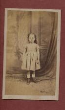 Norwich. Young Girl Victorian  CDV    q.1254