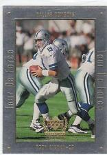TROY AIKMAN 1999 UD Legends Tour De Force Football card #A4 Dallas Cowboys NM
