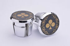 Colnago Arabesque Plugs Caps Tapones guidon bouchons lenker vintage style gold