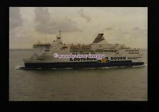 fq0103 - Belgian Oostende-Dover Ferry - Prins Filip c1993 - photograph 6x4