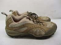 MERRELL Shoes Women's Size 8.5 Hiking Trail Lightweight Low Top Brown Leather
