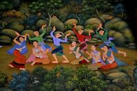 """perfact 36x24 famous oil painting handpainted on canvas """"dancing""""@N2628"""