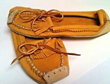 Native Moccasins Size Women's 8 / Soft Leather / Yellow