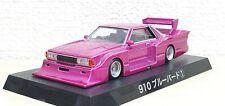 1/64 Aoshima Grachan NISSAN 910 BLUEBIRD PINK/PURPLE bosozoku diecast car model