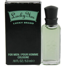 Lucky You by Lucky Brand for Men Miniature Cologne 0.18 oz. New in Box