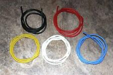 22 AWG Silicone Wire 5 Colors(Blk,Red,Yellow,Blue,White) 6 ft EA  Xtra Flexible