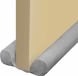 Under Door Draft Stopper Gray 30 inches to 34 inches NEW