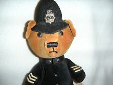 Vintage British Police Teddy Bear Stuffed Full Of Beans Collection By Toosipegs