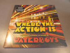 THE WATERBOYS - Where The Action Is - LP 180g Vinyl /// Neu & OVP /// Gatefold