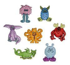 Super Freaks Monster Novelty Buttons Jesse James Theme Pack
