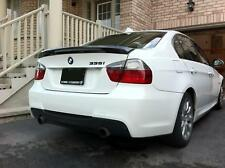 MTECH Style Trunk Spoiler For 2006-2011 BMW E90 3-Series M3 Sedan (GLOSS BLACK)