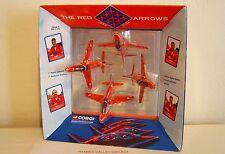 CORGI SHOWCASE CSFS07007, RED ARROWS 4 PIECE GYPO SET 40TH ANNIV, 1965-2004