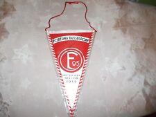 "Fortuna Düsseldorf Original 70iger Jahre Wimpel ""F95 Wappen"" + ""Erfolge"" Neu"