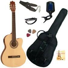PACK Guitare Électro-Classique Nature Cordes D'addario 6 Accessoires