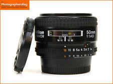 Nikon 50mm F1.4 D Autofocus Prime Lens + Free UK Postage