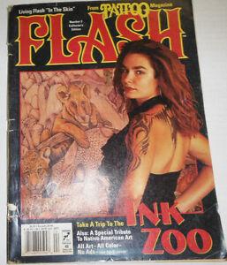 Tattoo Flash Magazine Ink Zoo No.3 110714R