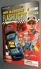 Columbia Collectable NASCAR Racing Jeff Gordon #24 Flashlight Keychain 2002