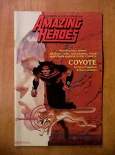 Amazing Heroes magazine #21 (1983) Coyote—Steve Englehart—Leialoha—St ar Wars