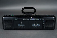Sony CFS-EW60 Dual Cassette Player/Recorder For PARTS or REPAIR