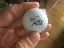The Olde Farm Logo Golf Ball