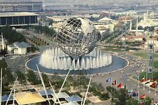 New York World's Fair 1964, Unisphere, Shea Stadium, EXPO, NY -- Modern Postcard