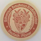 alter Bierdeckel BÖHMISCH BRAUHAUS Großröhrsdorf, * B-42