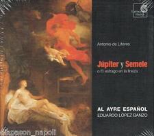 Literes: Jùpiter Y Semele / Eduardo Lòpez Banzo, Al Ayre Espanol - CD