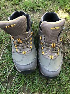Mens Hi-Tec Waterproof Walking Boots Moreno Uk Size 8 - Great Used Condition