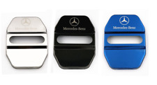 4Pcs Stainless Steel Car Door Lock Ring Protective Cover For Mercedes benz AMG