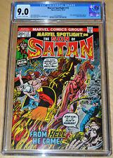 Marvel Spotlight #12 CGC 9.0 (2nd App/Origin Son of Satan) OFF-WHITE/WHITE PAGES