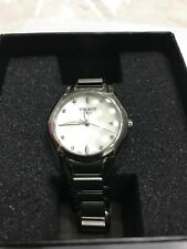 Tissot Trend T-Wave Mother of Pearl Dial Stainless Steel Ladies Watch
